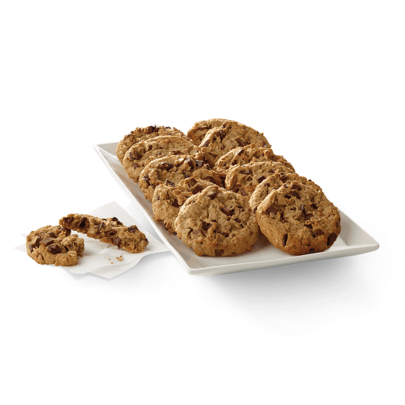 Chick Fil A Breakfast Tray Enchanting Chocolate Chunk Cookie Tray ChickfilA