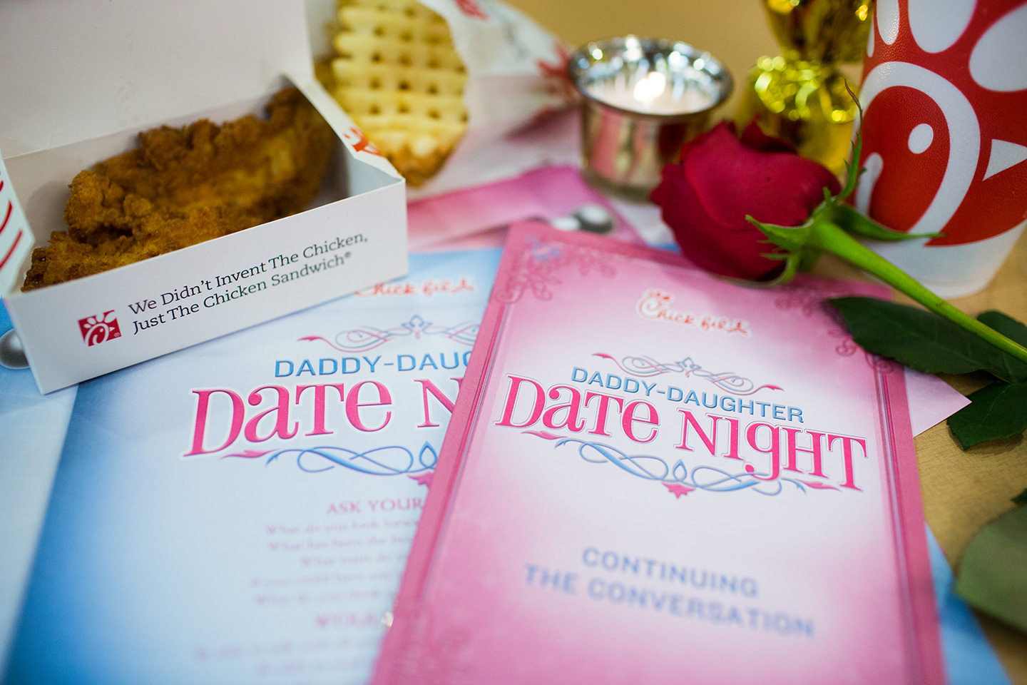 Chick-fil-a Daddy Daughter Date Night Images