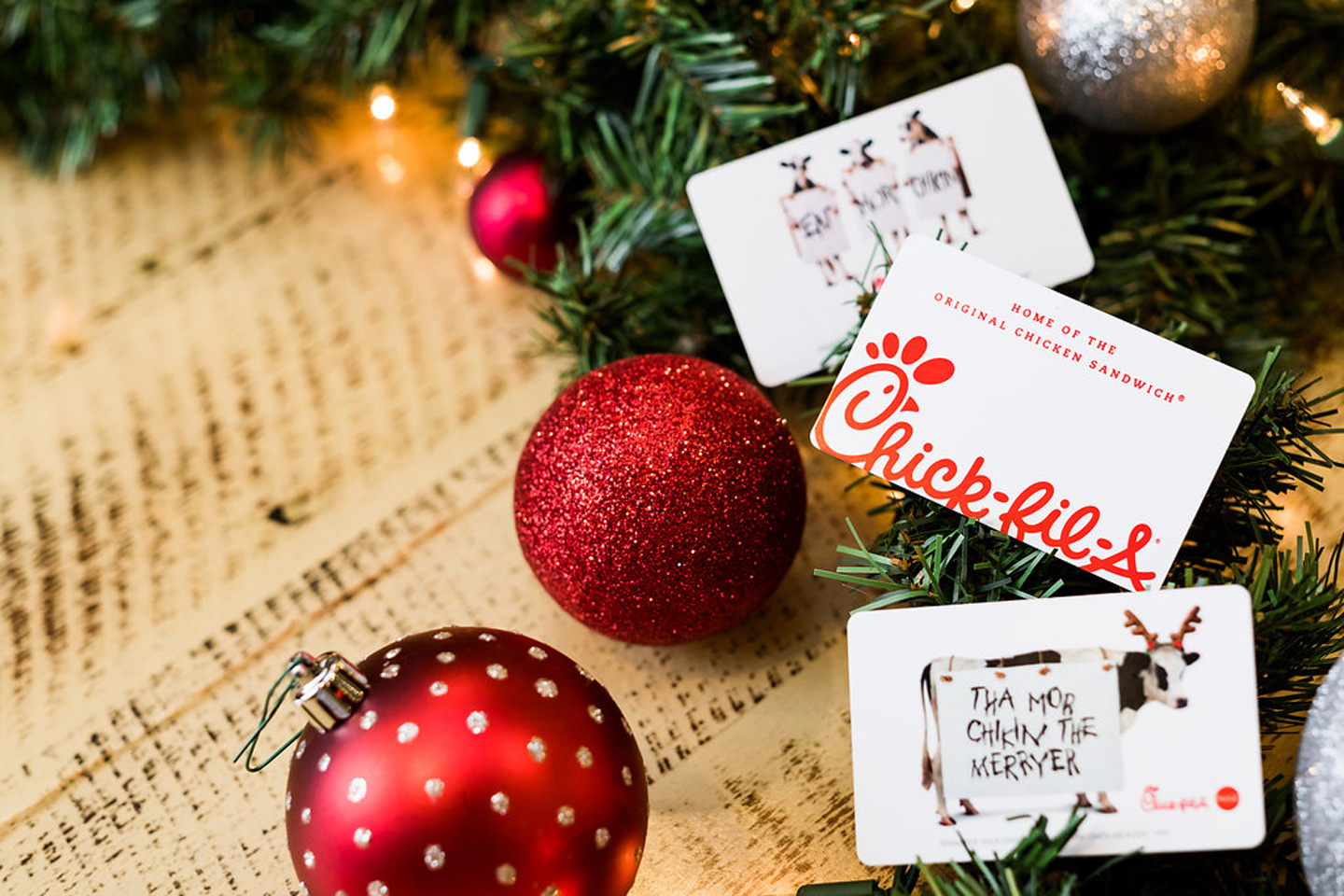 3 reasons to give a chick fil a gift card as a holiday present