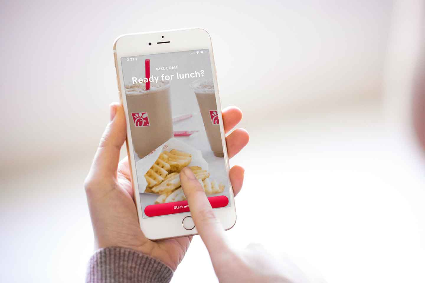 Whats New With The Chick Fil A App Chick Fil A