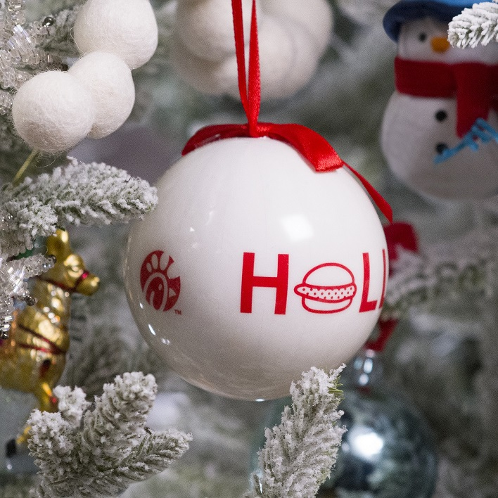Chick-fil-A Holiday Ornament