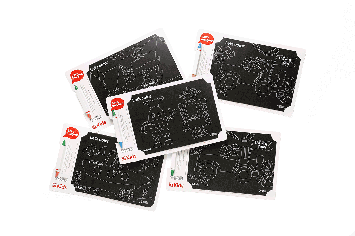Image of Imagination Starter chalkboard pads