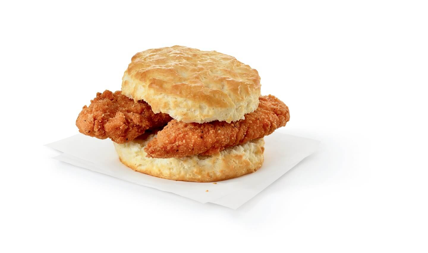 Spicy Chick-n-Strips Biscuit