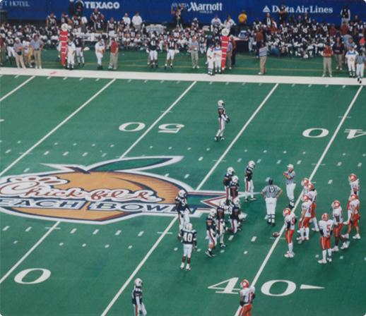 Chic-fil-A Peach Bowl  football game