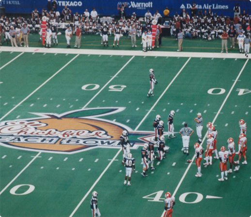 Chic-fil-A Peach Bowl  football game