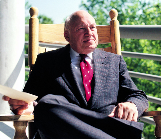 Picture of Truett Cathy sitting in a chair
