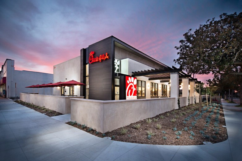 Inside Our Restaurant Design ChickfilA Gorgeous Exterior Restaurant Design