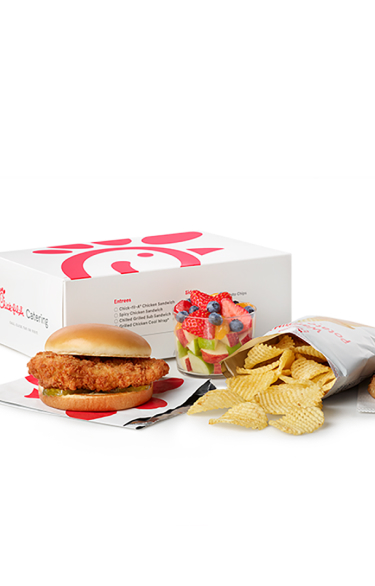 Menu Callout Packaged Meal Mobile