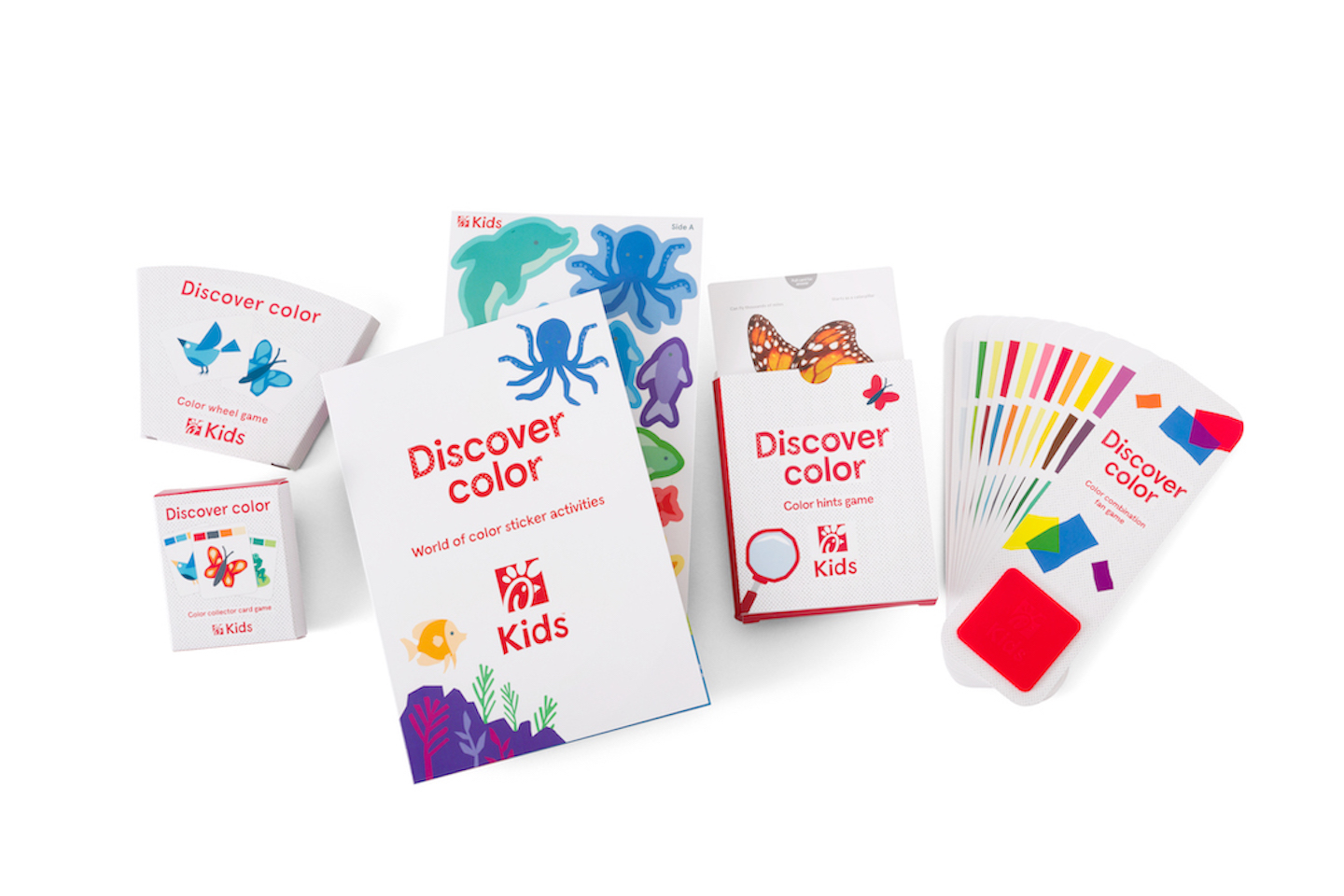 Discover Color Activities