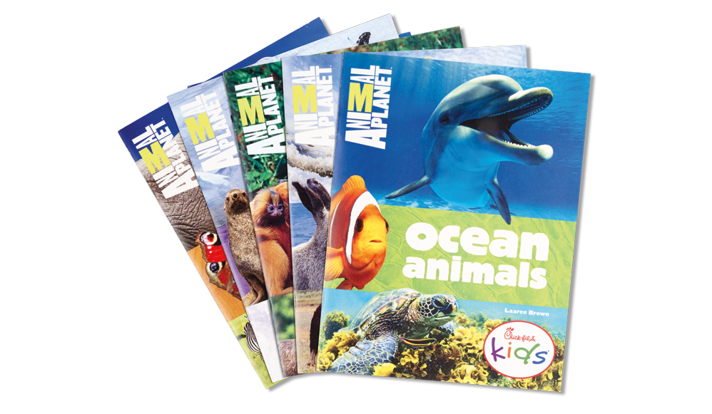Five Animal Planet Books