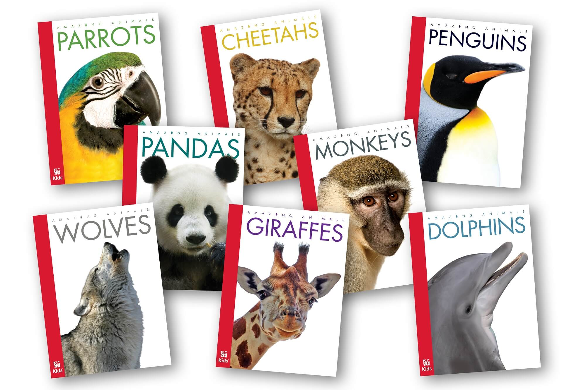 Amazing Animals books for kids