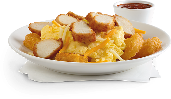 Hash Brown Scramble Bowl