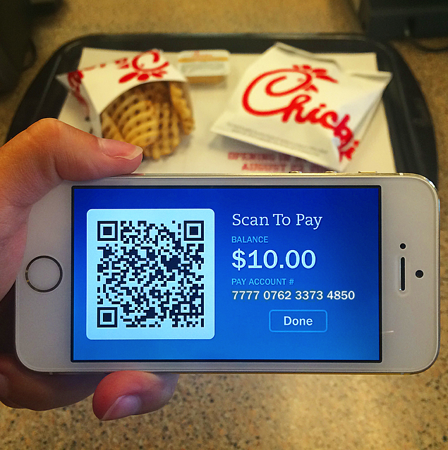 Mobile payment graphic