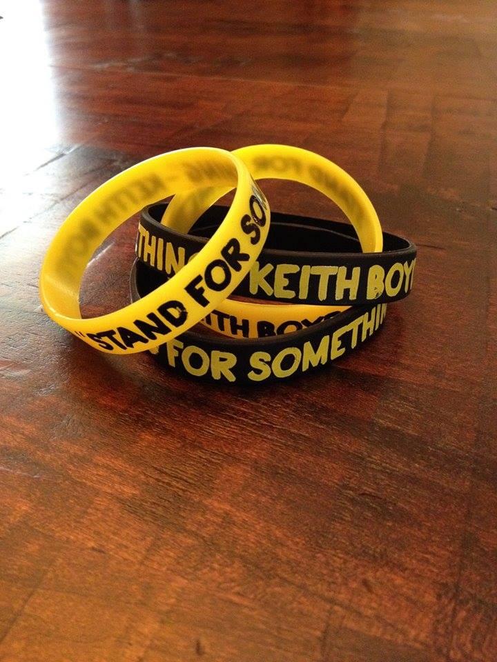 Keith Boyd rubber bracelets