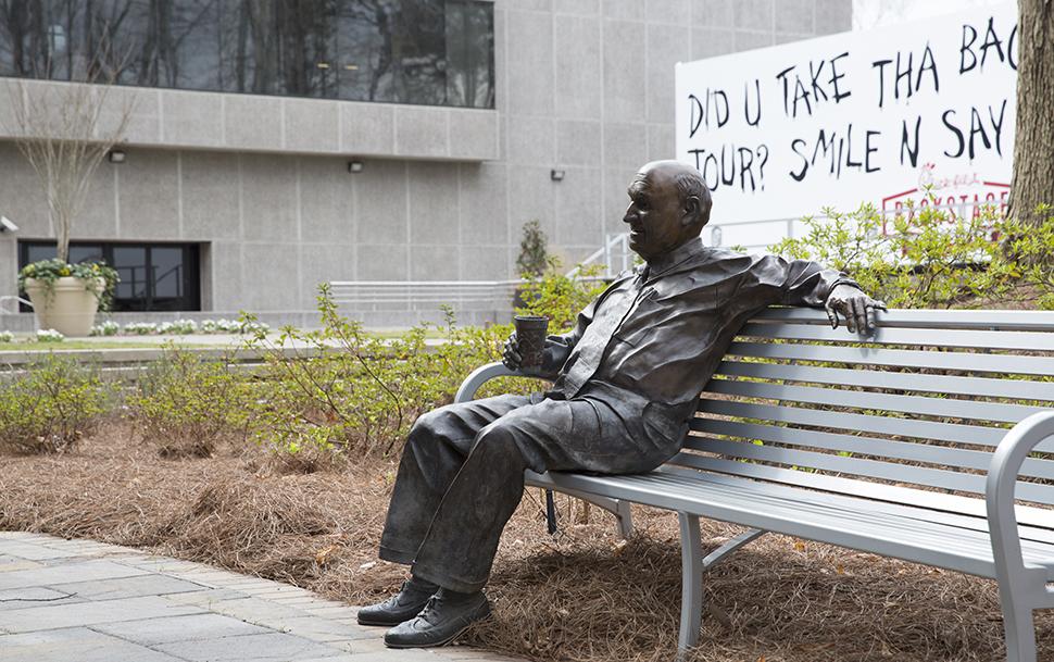 Truett Cathy statue