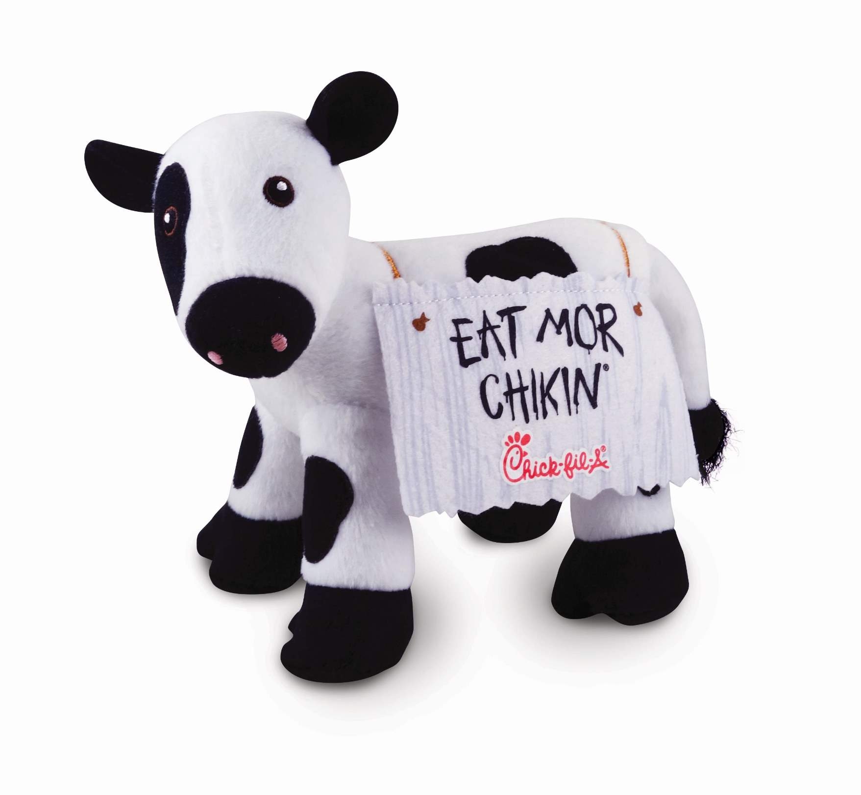 photo about Eat More Chicken Printable Sign identified as 20th Anniversary of the Try to eat Mor Chikin Cow Marketing campaign Chick
