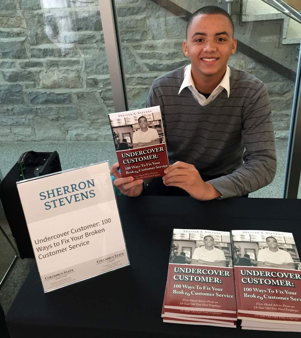 "Chick-fil-A Team Member Sherron Stevens, author of ""Undercover Customer: 100 Ways to Fix Your Broken Customer Service"""