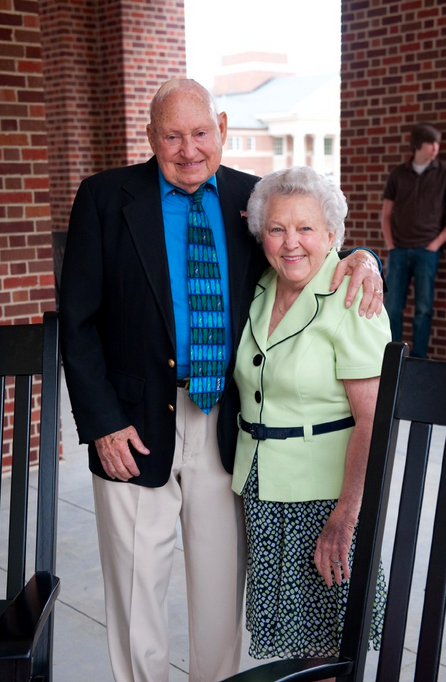 Truett and Jeannette Cathy