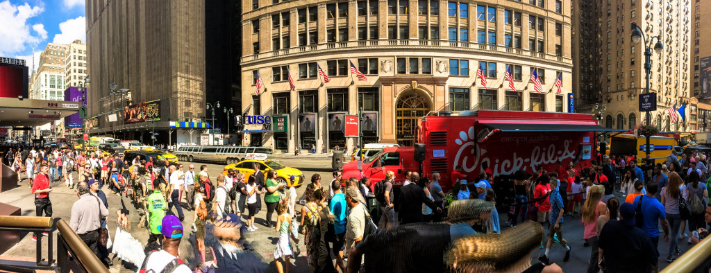 Chick-fil-A food truck in New York City