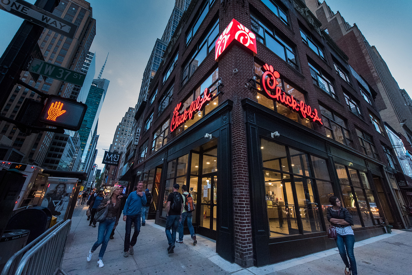 What It Takes To Set Up Shop In New York City Chick Fil A