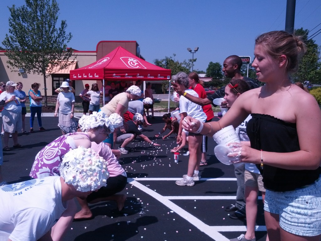 cheeto shaving cream chick-fil-a go game