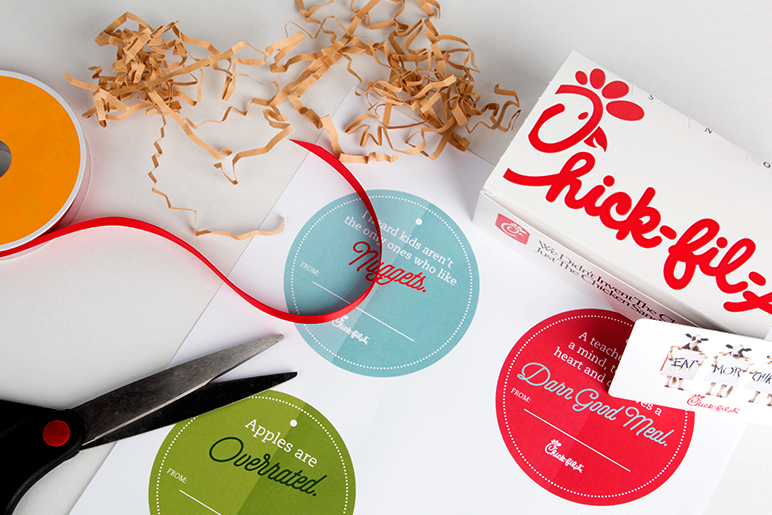 Chick-fil-A gift cards and Chick-fil-A One™ cards can be used at participating Chick-fil-A restaurants. Chick-fil-A gift cards and Chick-fil-A One™ cards may not be accepted at Chick-fil-A Express or Chick-fil-A licensed locations (such as airports, college campuses, office complexes, and hospitals, etc.).
