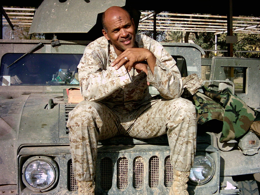 James Pierce serving in Iraq - 24th Marine Expeditionary Unit