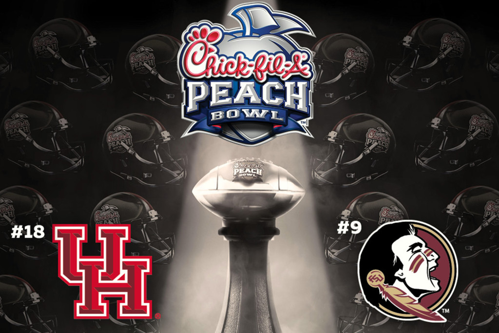 2015 Peach Bowl graphic