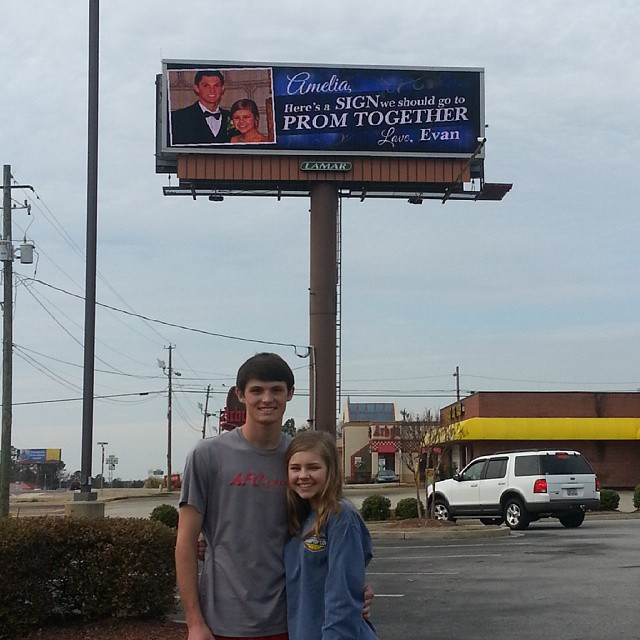 Evan Davis and Amelia Smith in Griffin, Ga.