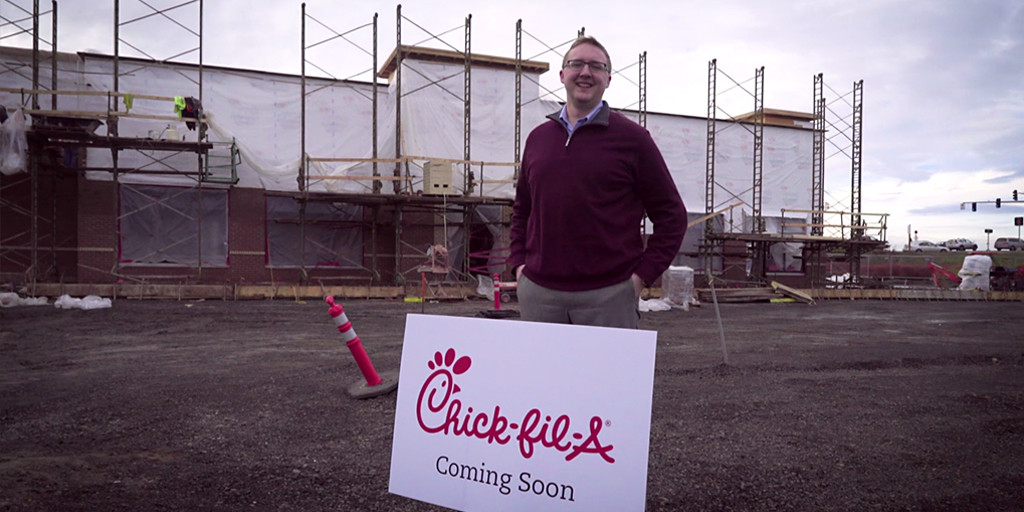 Chick-fil-A owner and operator Brian Hogan