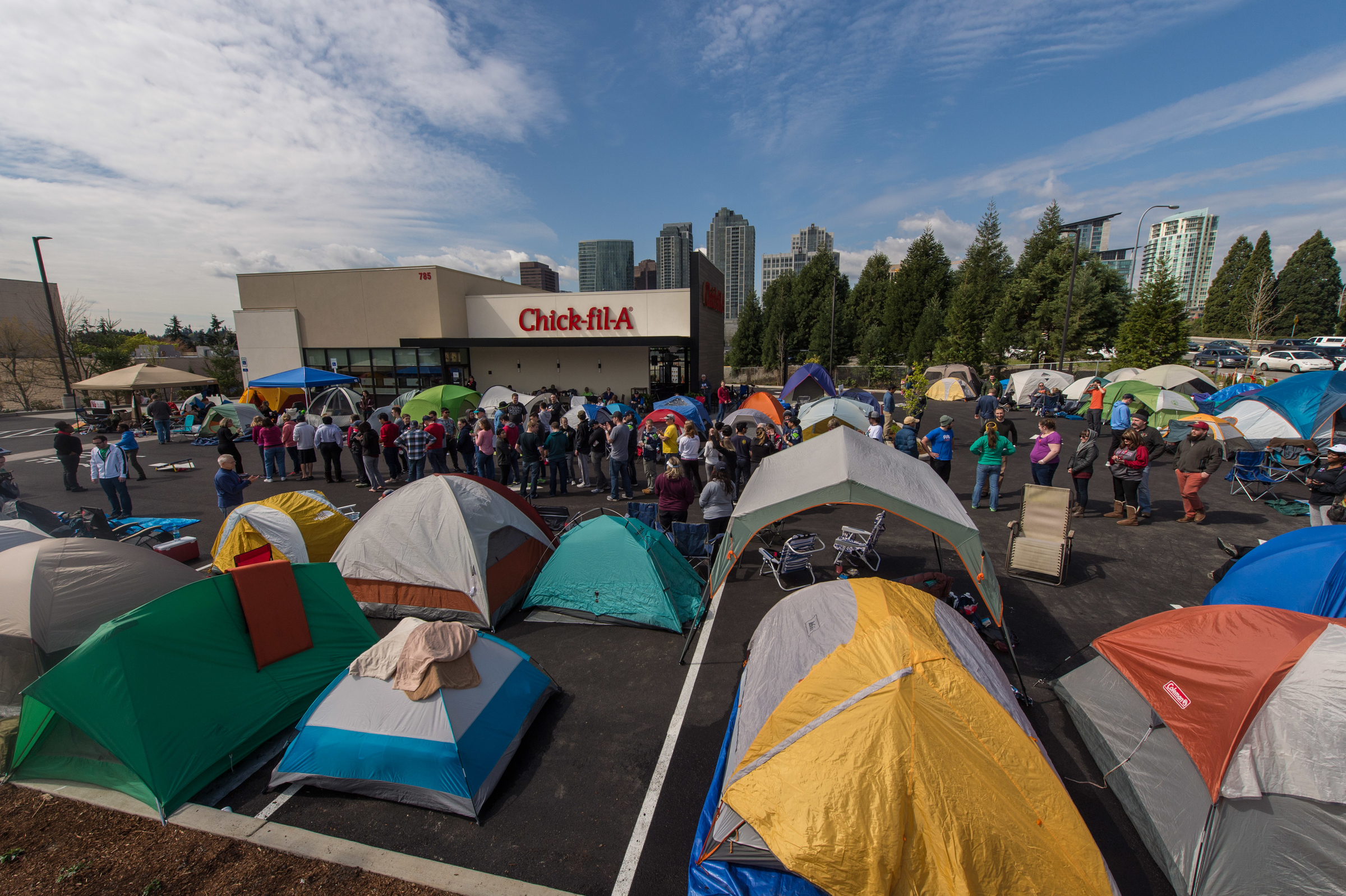 Bellevue Campout