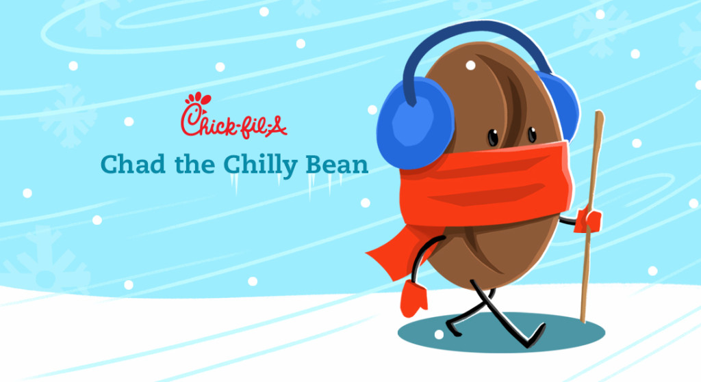 Chad the chilly bean