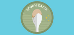 Spoon eater graphic