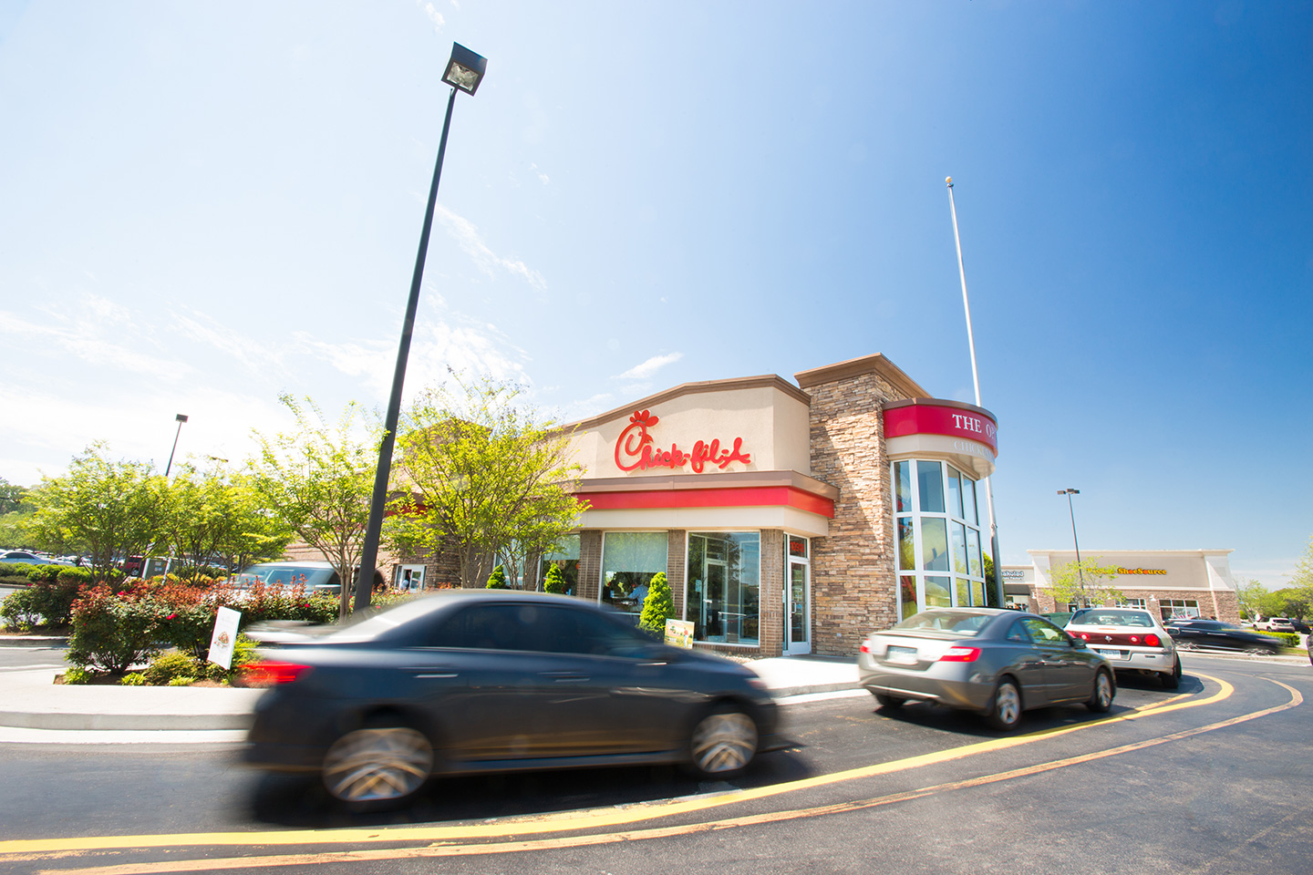 Turkey Creek Chick-fil-A restaurant in Knoxville, Tennessee