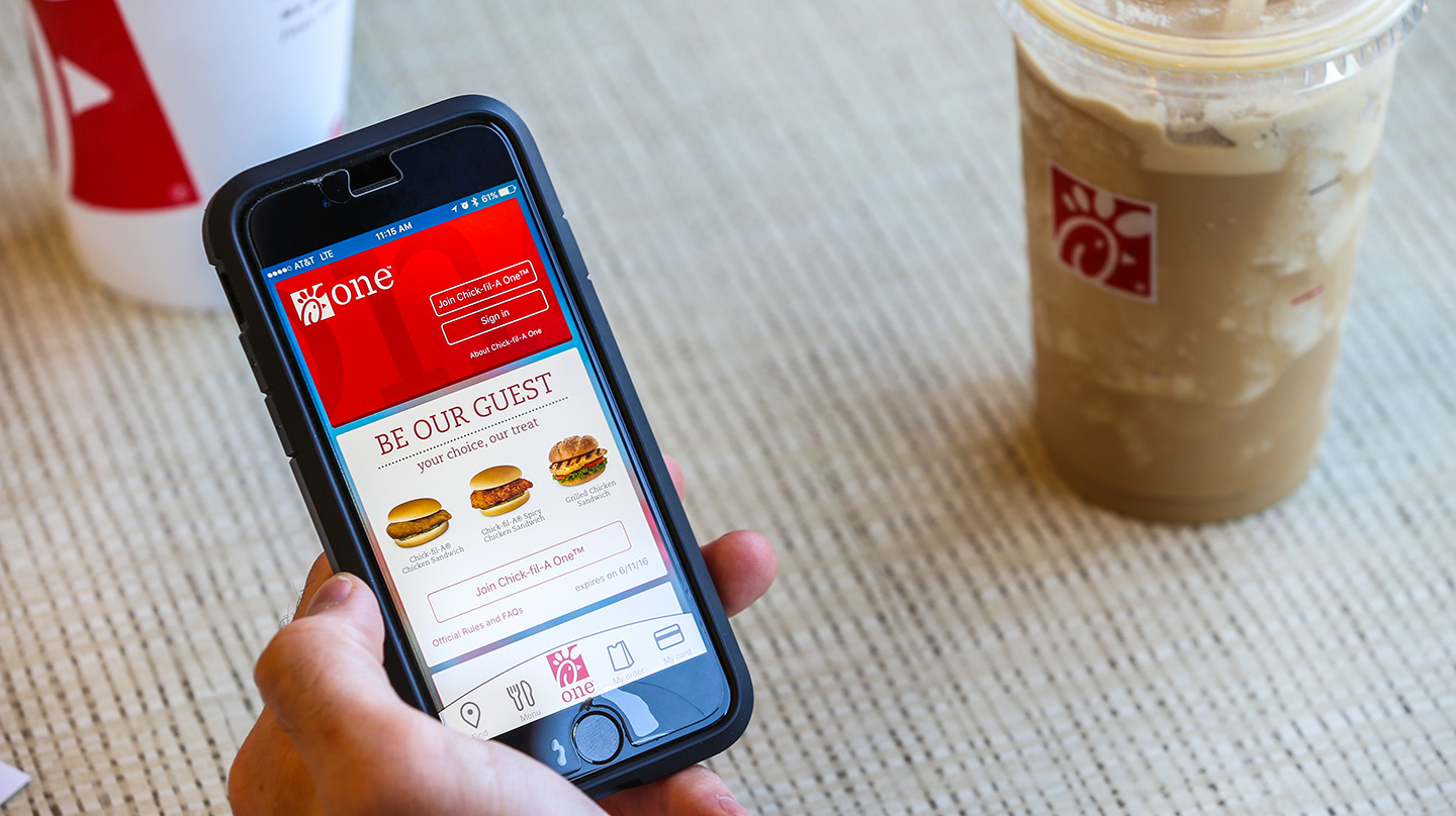 6 reasons you love the Chick-fil-A app | Chick-fil-A