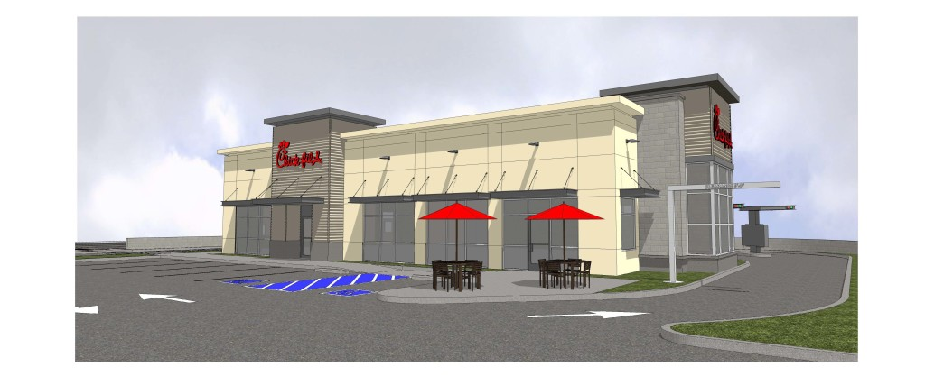 Vancouver Washington Restaurant Rendering