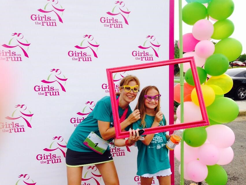 Abby Maloney and her mom, Missie Maloney, complete another Girls on the Run race