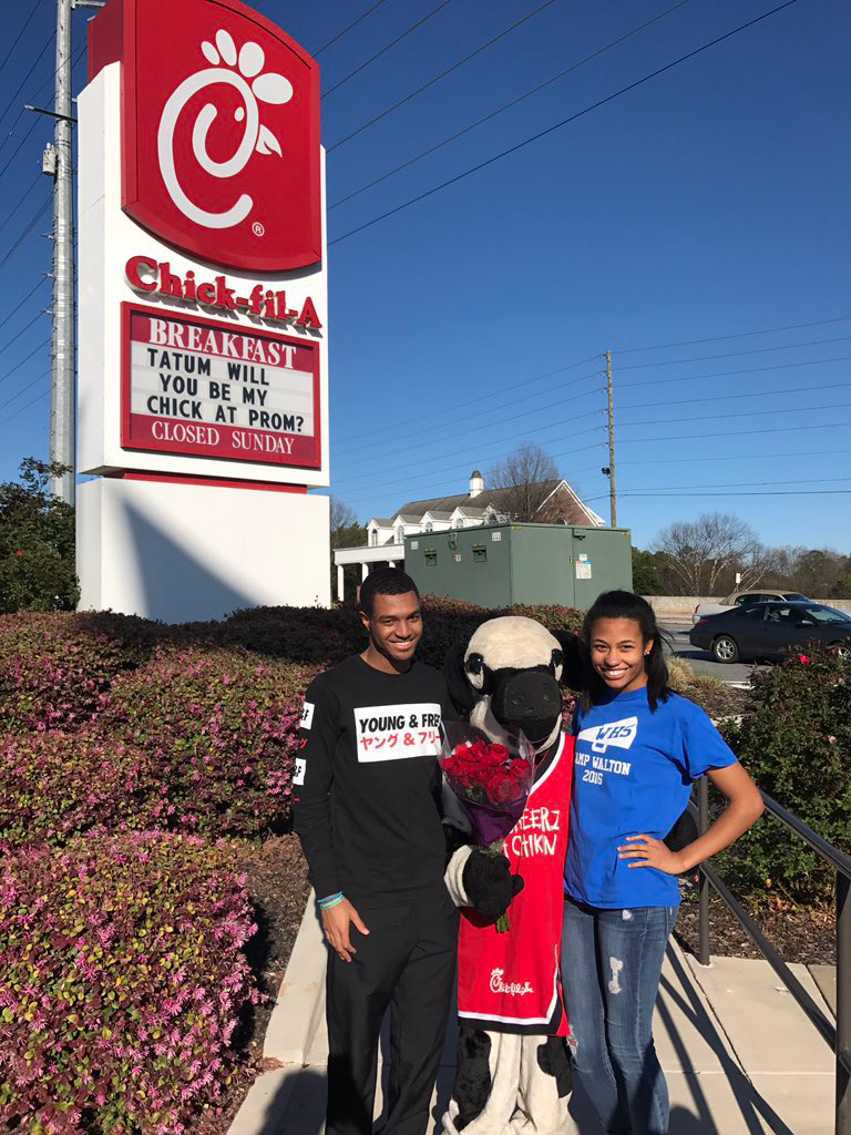 'be My Chick @ Prom?': This Year's Best Chickfilainspired Promposals
