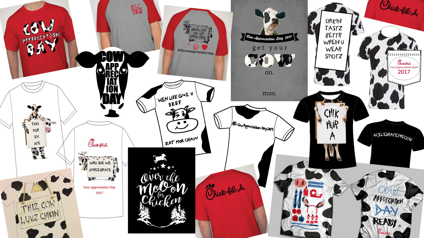 picture regarding Chick Fil a Printable Cow Costume referred to as The best Cow Appreciation Working day 2017 contest champion