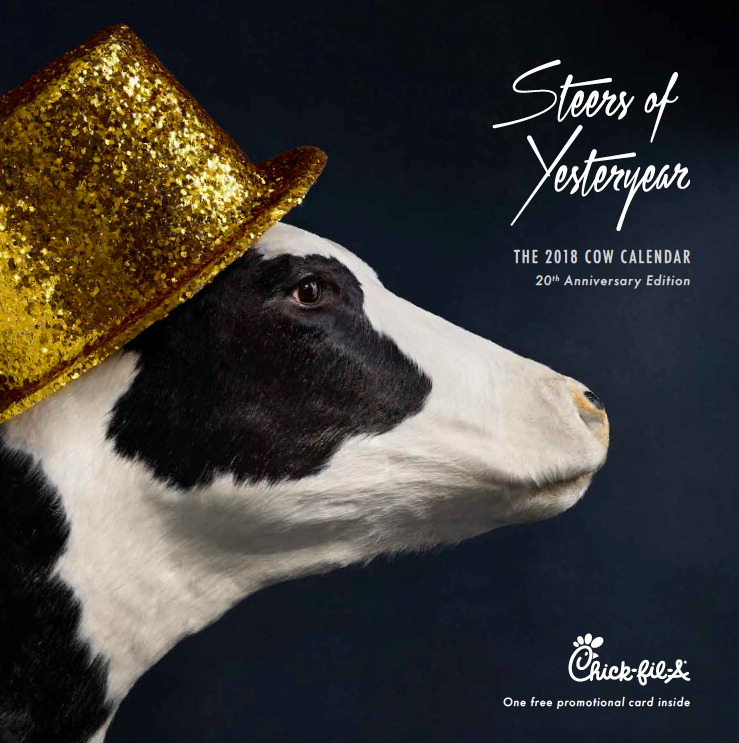 Image result for chick fil a calendars