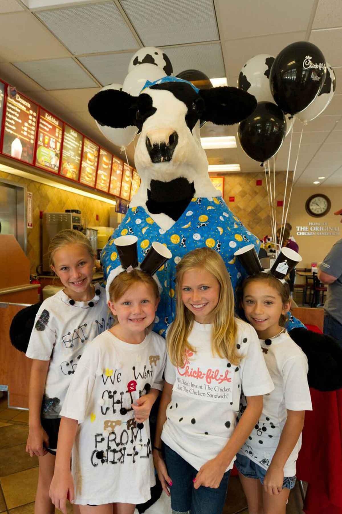 graphic relating to Printable Chick Fil a Cow Costume identified as The Tale At the rear of The 2018 Cow Appreciation Working day T-Shirts