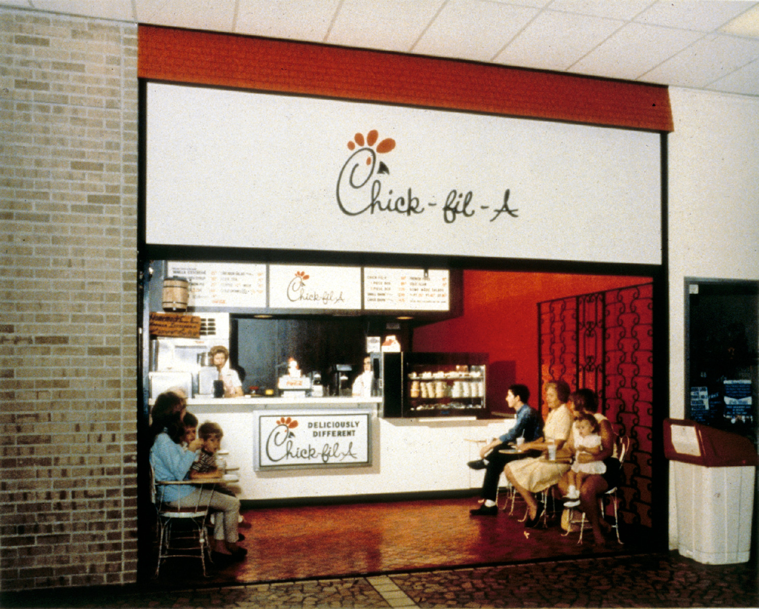 Where was Chick-fil-A's first restaurant? | Chick-fil-A