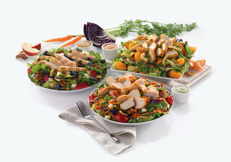 Chick-fil-A salads