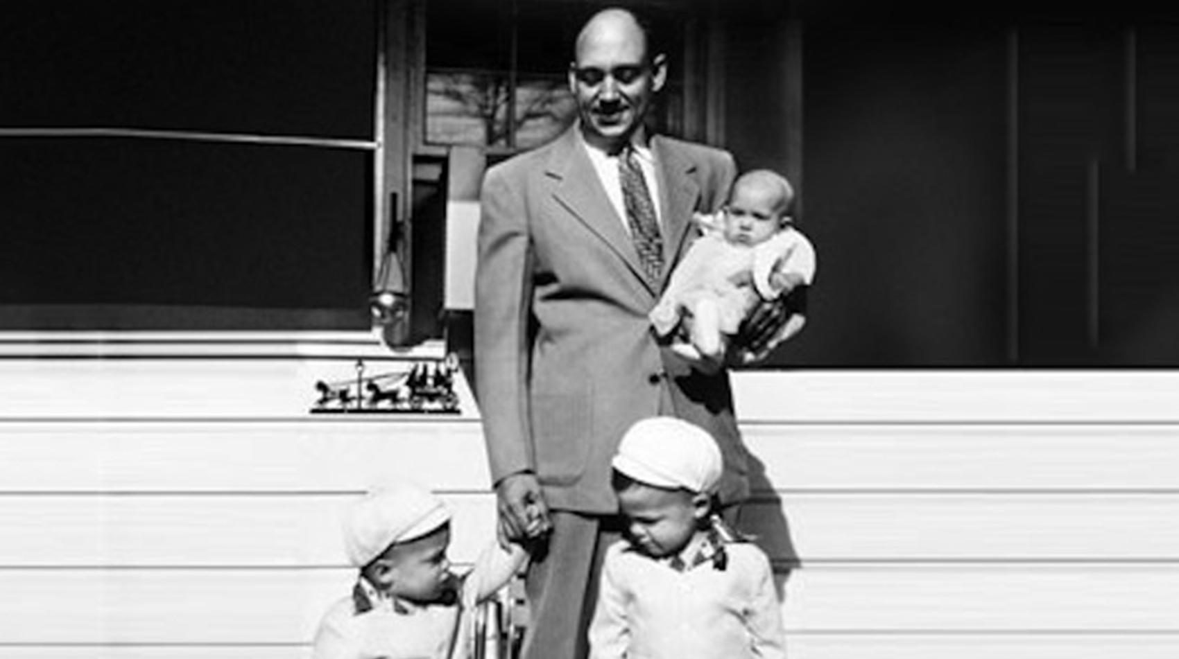 Truett and his kids